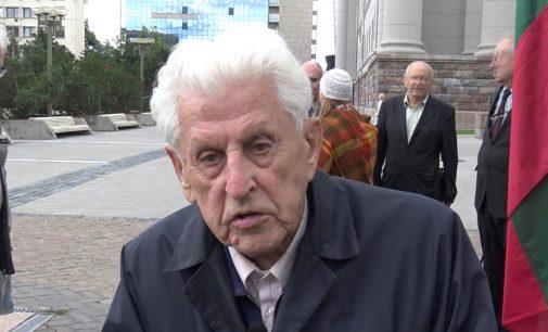 Prof. Algirdas Šukys: Prisimenant 1991 metų naktį į sausio 13 -aja