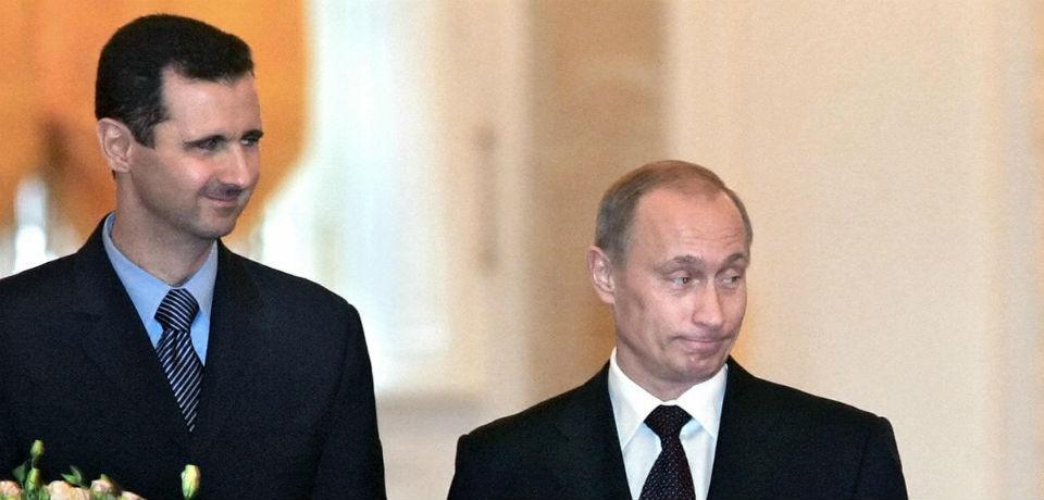 Putinas ir Asadas
