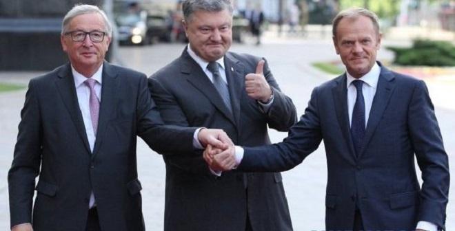 Tuskas, Porošenko ir Junkeris