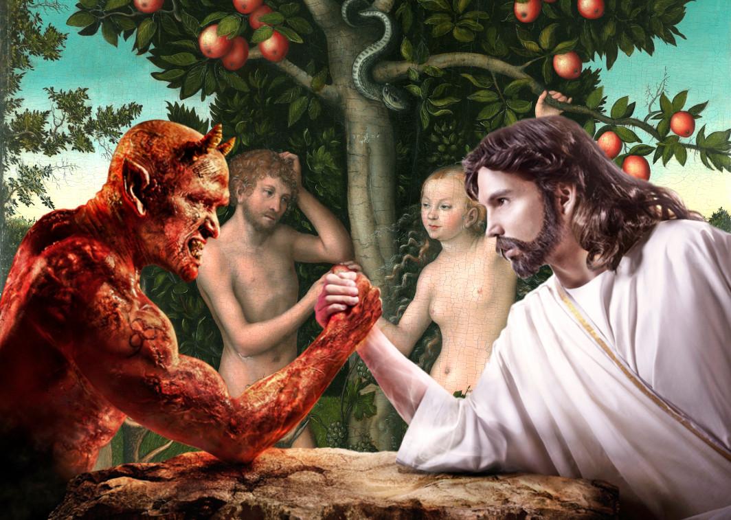 Dievo ir Šėtono kova d4l žmogaus