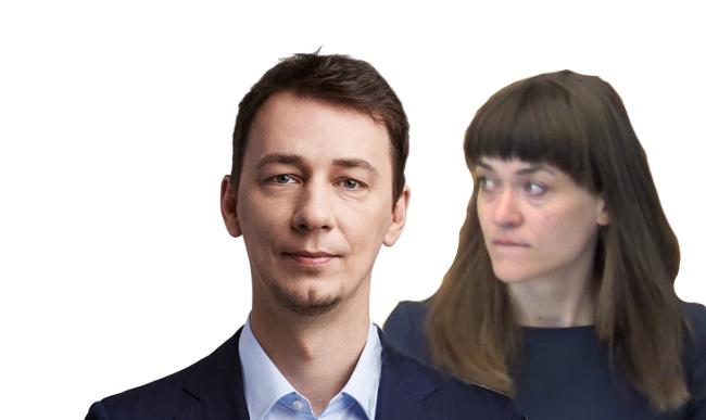 Vytautas Kernagis ir Radvilė Morkūnaite-Mikulėnienė