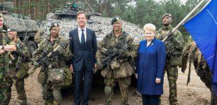 Prezidentė: Rusijai rengiantis prieš Vakarus nukreiptoms pratyboms, NATO batalionai yra neatsiejama regiono gynybos dalis