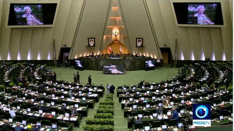 teheranas - parlamento debatai del sankciju JAV