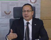 Ž. Pavilionis kreipėsi į Seimo Pirmininką prašydamas įvertinti NSGK pirmininko V. Bako bandymus užmegzti ryšius su Rusijos profsąjungomis