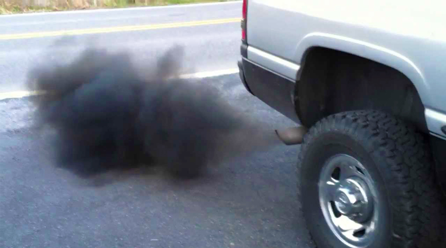 Automobilis dūmija