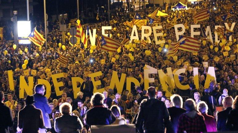 katalonai už nepriklausomybę