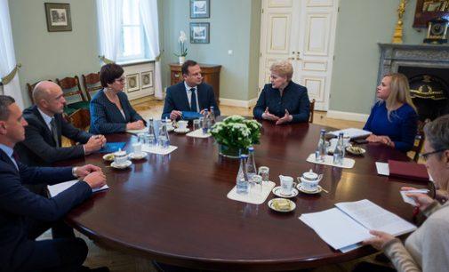 Lietuvos Prezidentė stiprina kovą su neteisėtu praturtėjimu