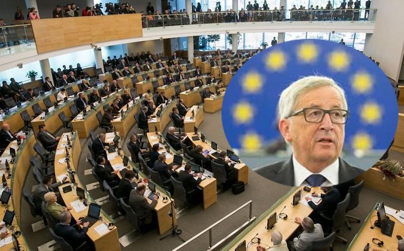 Seimo nariai kreipėsi į Ž.K. Junkerį. Tik 17 Seimo narių.