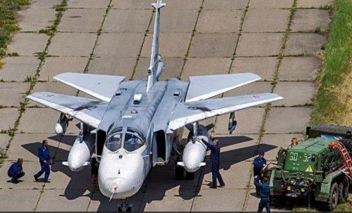 Sirijoje sudužo Rusijos bombonešis