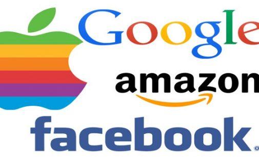 Europos Sąjunga rengia smūgį amerikiečių interneto gigantėms
