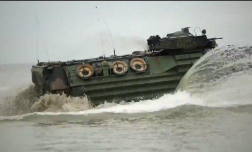 JAV jūrų pėstininkai ruošiasi konfliktui Rytų Europoje