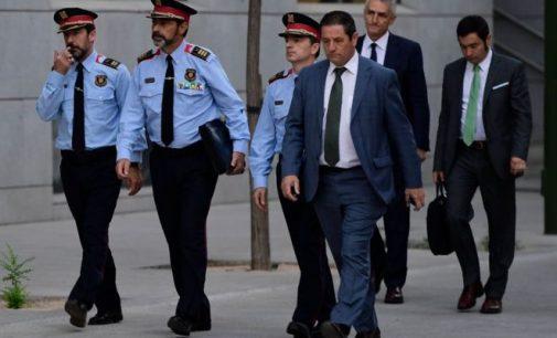Madridas apkaltino Katalonijos policijos vadovą maištu