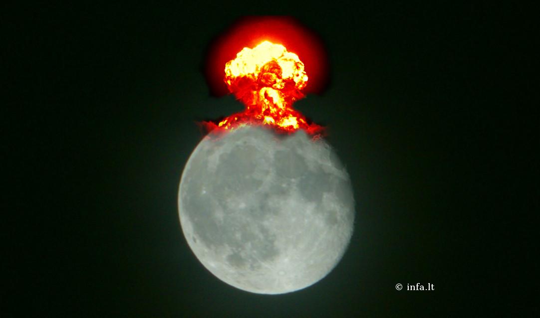 Sprogimas Mėnulyje