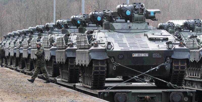Vokietijos tankai pakeliui į Lietuvą