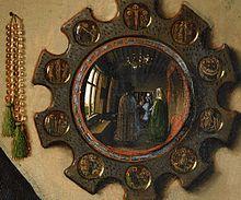 Van Eikas, Arnolfini vedybos, fragmentas
