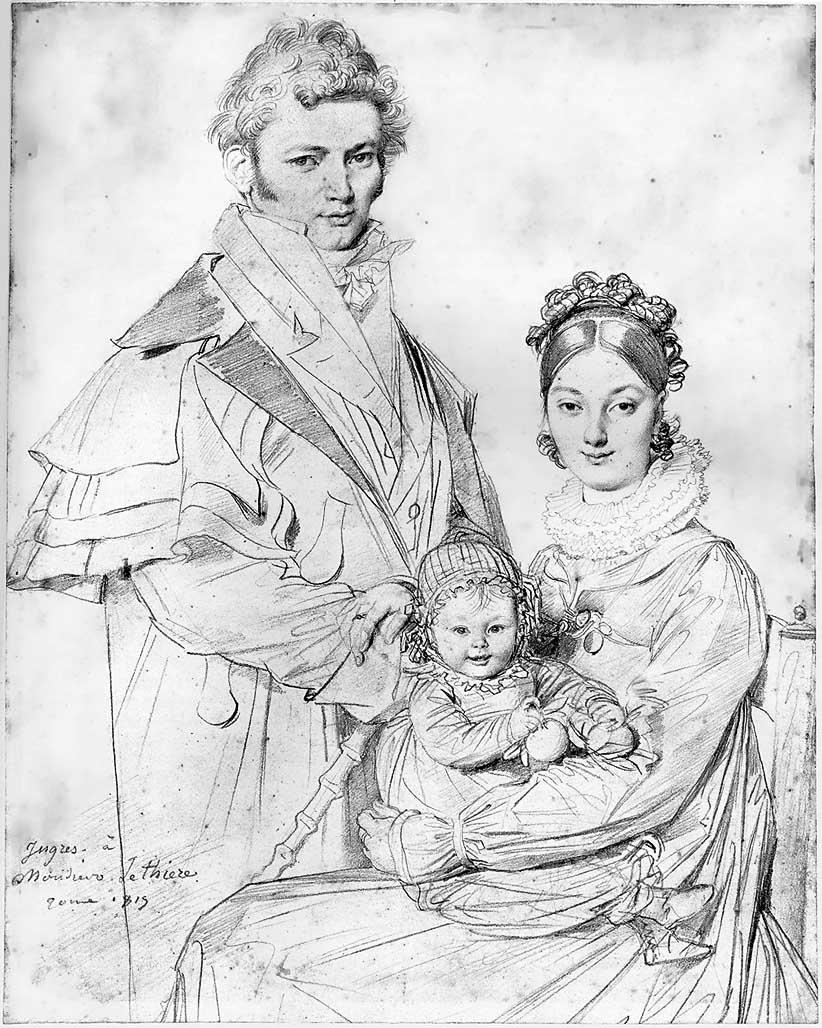 Ž. B. D. Engras, piešinys, kur neatitinka portretuojamų asmenų dydžiai