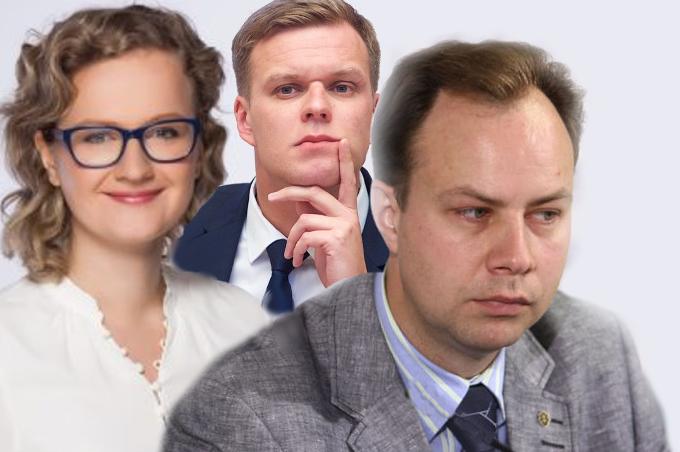 Aušrinė Armontaitė, Aurelijus Veryga ir Gabrielius Landsbergis