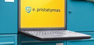 Startuoja E. pristatymo sistema, kurią išbandyti kvietimus gaus apie 600 tūkstančių gyventojų