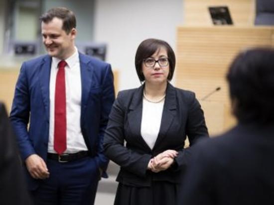Gintaras Paluckas ir Raminta Popovienė