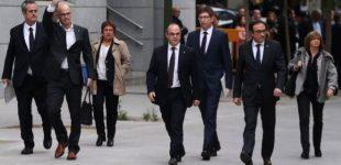 Ispanijos teismas areštavo aštuonis nušalintos Katalonijos vyriausybės narius