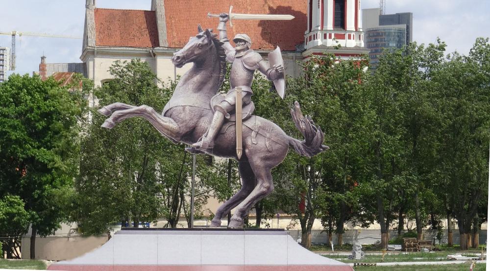 Vyčio paminklas Lukiškių aikštėje