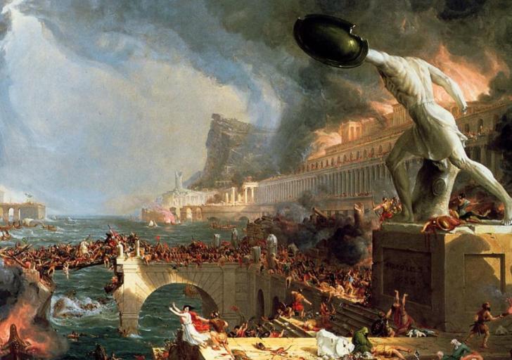 Senovės Romps žlugimas