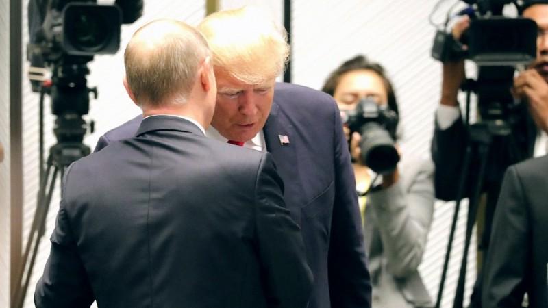 Donaldas Trampas ir Vladimiras Putinas