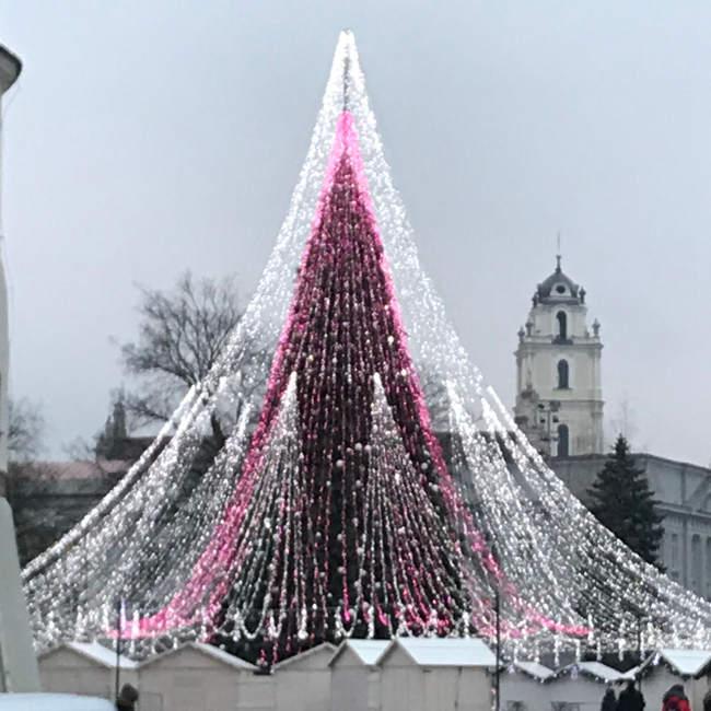 Kalėdų eglutė Vilniuje