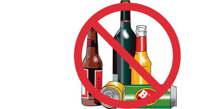 Alkoholio reklamai ne