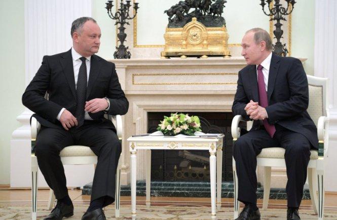 I. Dodonas ir V. Putinas