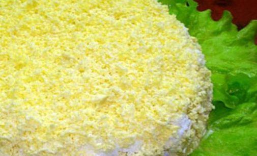 Salotos su sūriu, liežuviu ir raugintu agurku – apsilaižysite!