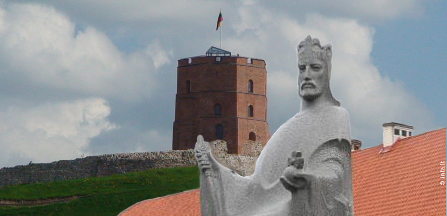 Lietuvos simboliai - Gedimino pilis