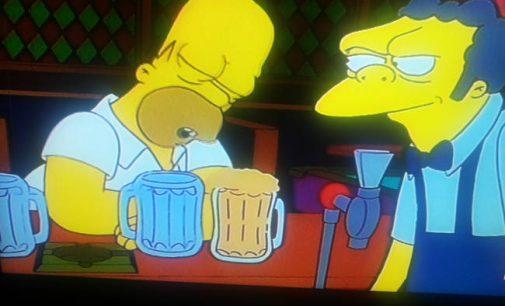 """Draudžiam alkoholį, o """"Simpsonus"""" pamirštam?"""