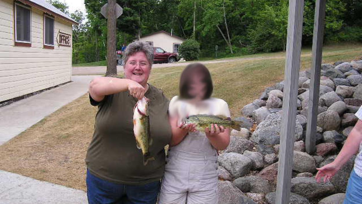 Žuvis rankose