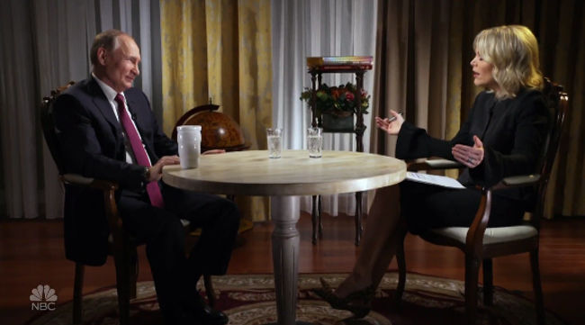 V. Putinas ir Megyn Kelly