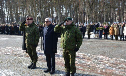 Alytuje paminėtos Lietuvos partizano A. Ramanausko-Vanago 100-osios gimimo metinės