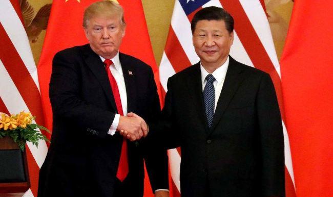 Donaldas Trampas ir Xi Jinpingas