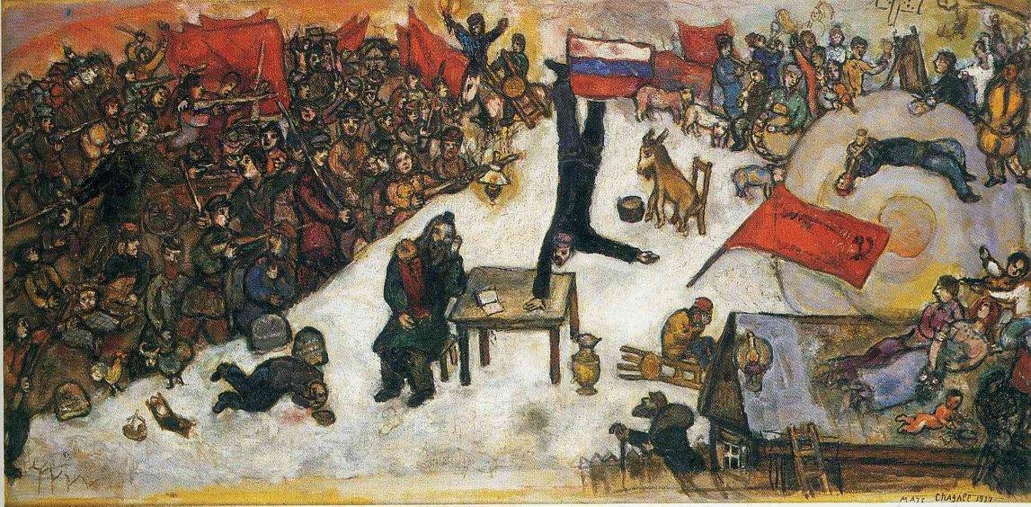 markas Šagalas. Revoliucija. 1937m