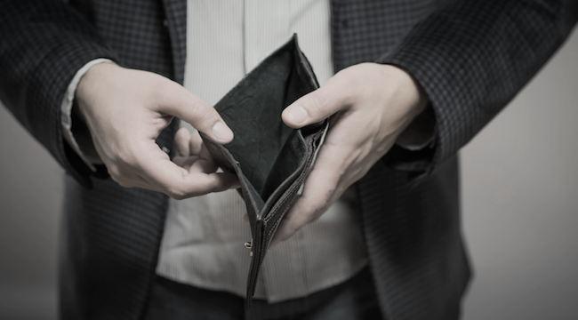 nera pinigų