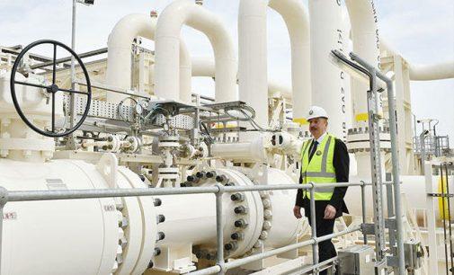 """Alijevas atidarė """"Pietinį dujų koridorių"""" į Europą apeinant Rusiją"""