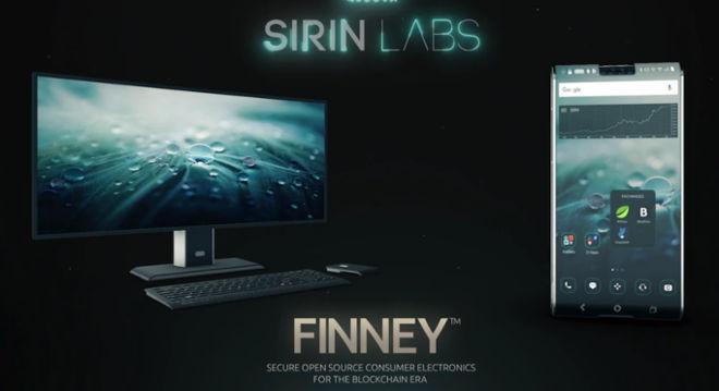 Kripto telefonas Finney