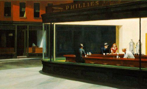 Edward Hopper ir Andrew Wyeth. Realizmas, kuris stebimas kaip abstrakcija