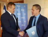 Pasirašytas bendradarbiavimo susitarimas su Izraeliu