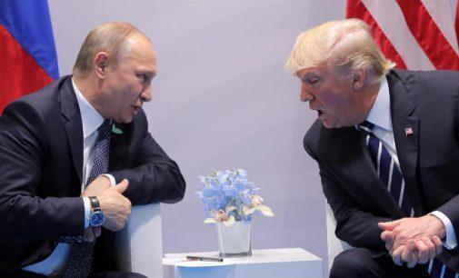 Kremlius anonsavo V. Putino ir D. Trampo susitikimą