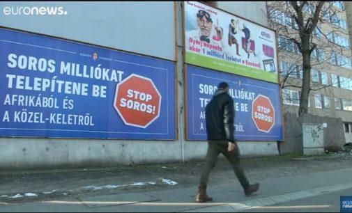 """Vengrija: """"Sustabdyti Sorosą"""""""