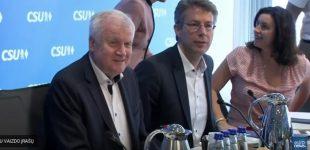 Skilimas Vokietijos valdančiojoje koalicijoje dėl imigracijos politikos