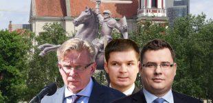 Kurios partijos pastangomis Vilniaus Lukiškių aikštėje bus pastatytas Vytis?  Konservatorių pareiškimas