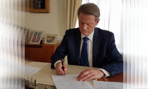 """Prezidentas R. Paksas: """"Kuriamas pilietinis judėjimas """"Šaukiu aš Tautą"""" turėtų būti kaip skliautas virš visų politinių įvykių Lietuvoje"""""""