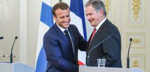 Emanuelis Makronas ragina visapusiškai peržiūrėti Rusijos ir Europos Sąjungos santykius