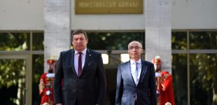 KAM ministras R. Karoblis dėkoja Kroatijai už solidarumą bendrų grėsmių akivaizdoje
